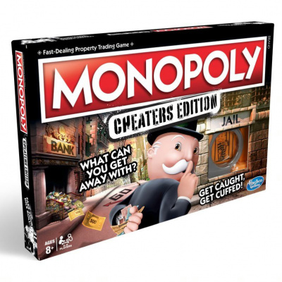 Foto van Monopoly Cheaters Edition