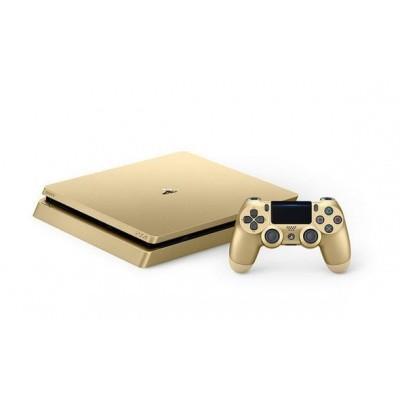 Foto van Playstation 4 Console 1Tb (Slim) Goud PS4