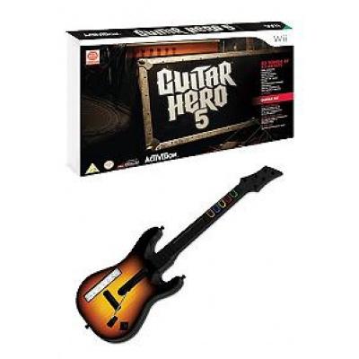Guitar Hero 5 + Guitar WII