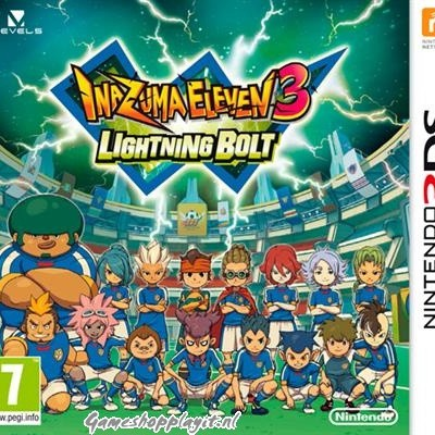 Foto van Inazuma Eleven 3: Lightning Bolt 3DS