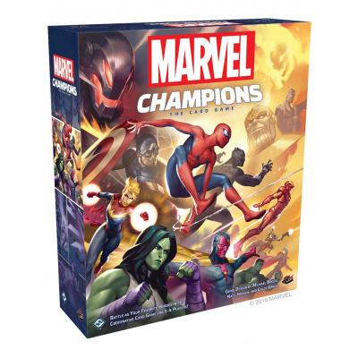 Foto van Marvel Champions The Card Game BORDSPELLEN