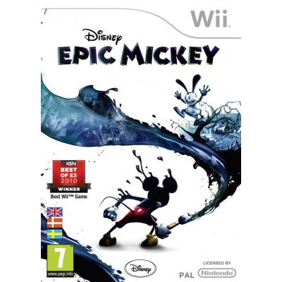 Disney Epic Mickey WII