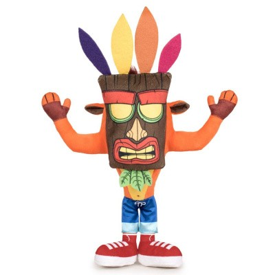 Crash Bandicoot: Crash With Aku Aku Mask Pluche 32cm PLUSHES