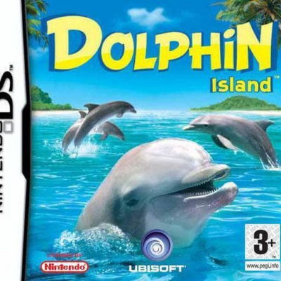Foto van Dolphin Island (Losse Game) NDS