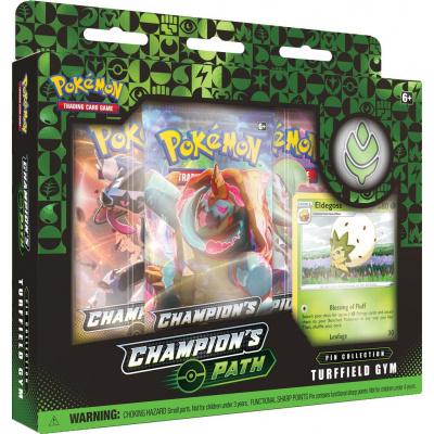 Foto van TCG Pokémon Champion's Path Pin Collection - Turffield Gym POKEMON