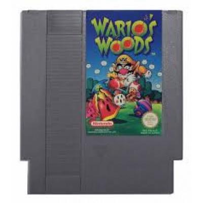 Foto van Wario's Woods (Cartridge Only) NES