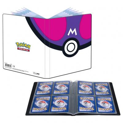 TCG Pokémon Master Ball Portfolio 4-Pocket POKEMON