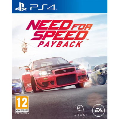 Foto van Need For Speed Payback (Duitse Cover) PS4
