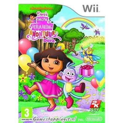 Dora's Grote Verjaardag WII