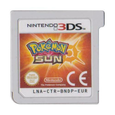Foto van Pokemon Sun (Game Card Only) 3DS LOSSE GAME