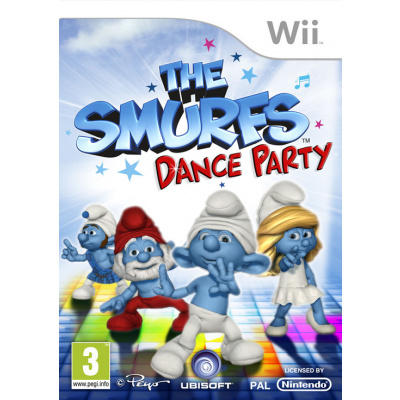 De Smurfen Dance Party WII