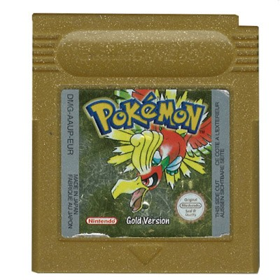 Foto van Pokemon Gold GBC LOSSE GAME