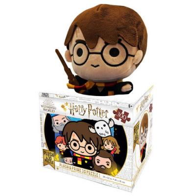 Foto van Harry Potter Chibi Prime 3D Puzzle + Harry Pluche 20cm PUZZEL