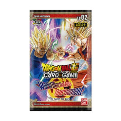 Tcg Booster Pack World Martial Arts Tournament Tb02 Dragon Ball DRAGON BALL