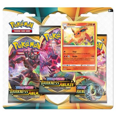 Foto van TCG Pokémon Sword & Shield Darkness Ablaze Booster Packs - Flareon POKEMON