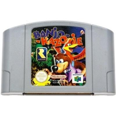 Foto van Banjo Kazooie (Cartridge Only) N64