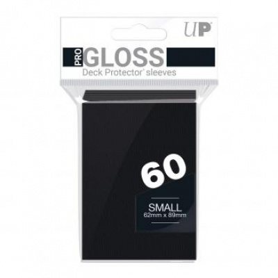 Foto van TCG Sleeves Gloss Ultra Pro - Black (Small Size) SLEEVES