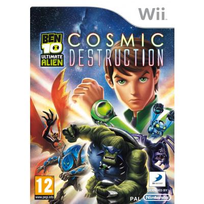 Ben 10 Ultimate Alien Cosmic Destruction WII