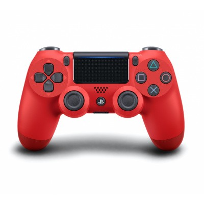 Foto van Sony Wireless Dualshock 4 Controller V2 - Magma Red PS4