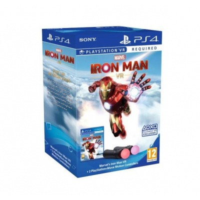 Foto van Marvel's Iron Man (PSVR) + 2 Move Controllers PS4