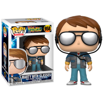 Foto van Pop! Movies: Back to the Future - Marty with Glasses FUNKO