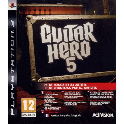 Guitar Hero 5 (Game Only) PS3