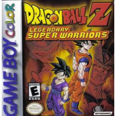 Foto van Dragon Ball Z Legendary Super Warriors GBC LOSSE GAME