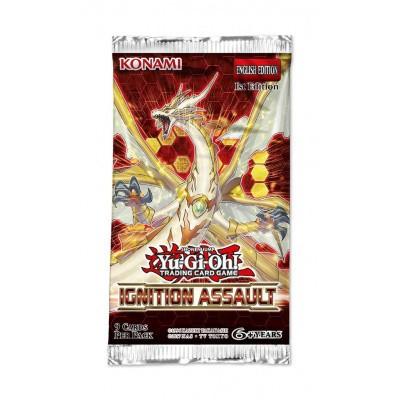 Foto van TCG Yu-Gi-Oh! Ignition Assault Sleeved Booster Pack YU-GI-OH