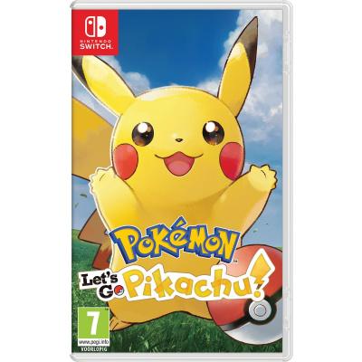 Foto van Pokemon: Let's Go, Pikachu! (Duitse Cover) SWITCH
