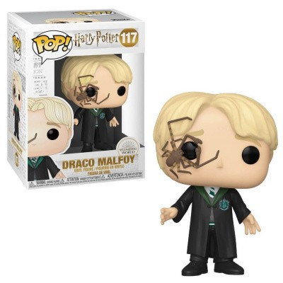Foto van Pop! Harry Potter: Draco Malfoy With Whip Spider FUNKO