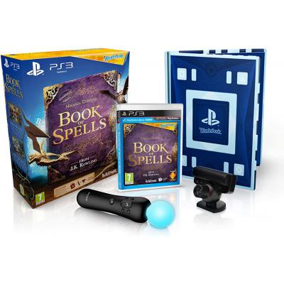 Foto van Wonderbook Book Of Spells + Move Starter Pack PS3