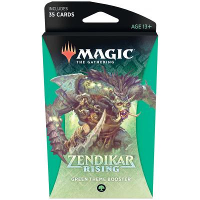 Foto van TCG Magic The Gathering Zendikar Rising Green Theme Booster MAGIC THE GATHERING