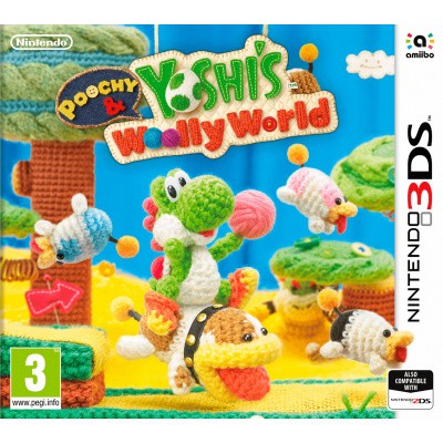 Foto van Poochy & Yoshi's Woolly World 3DS