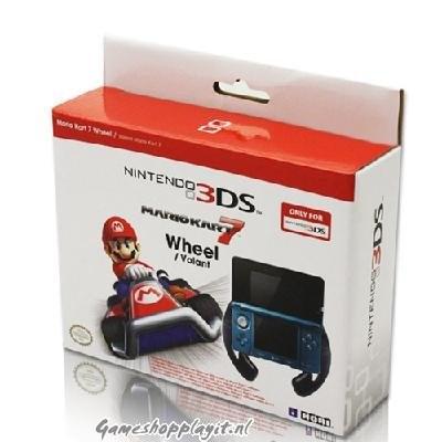 Foto van Hori Mario Kart 7 Wheel 3DS