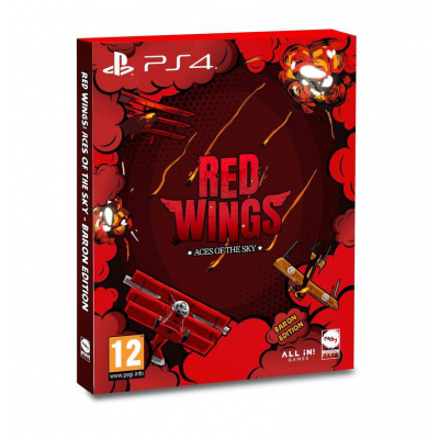 Foto van Red Wings: Aces Of The Sky - Baron Edition PS4