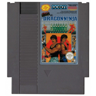 Foto van Bad Dudes Vs. Dragonninja (Losse Cassette) NES