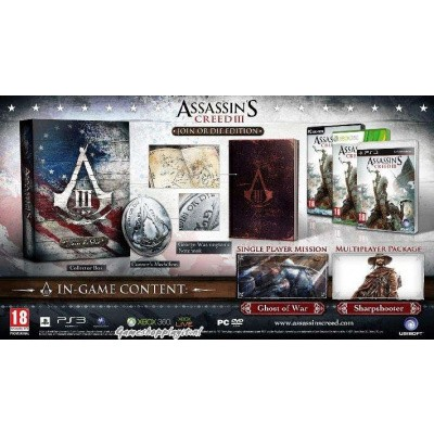 Foto van Assassin's Creed 3 (Join Or Die Edition) XBOX 360