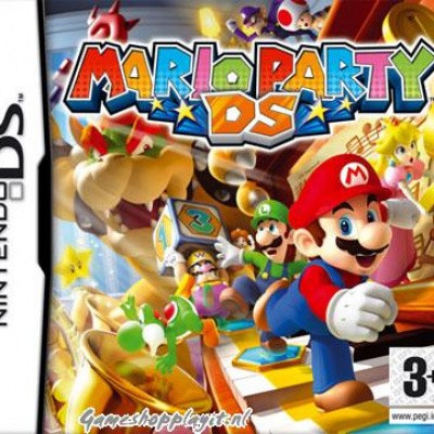 Mario Party Ds NDS