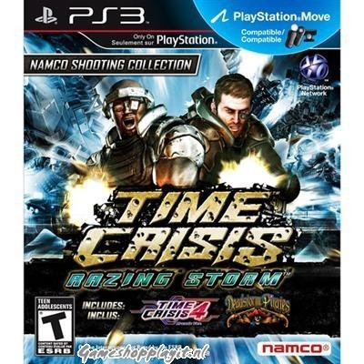 Time Crisis Razing Storm PS3