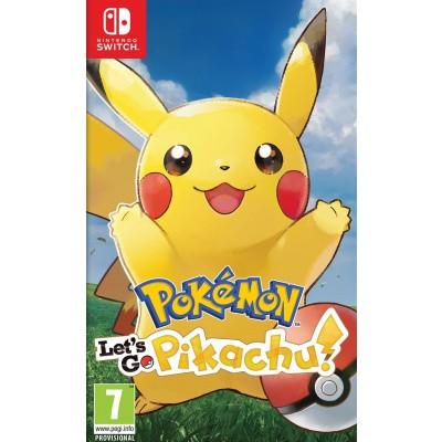 Pokemon: Let's Go, Pikachu! SWITCH