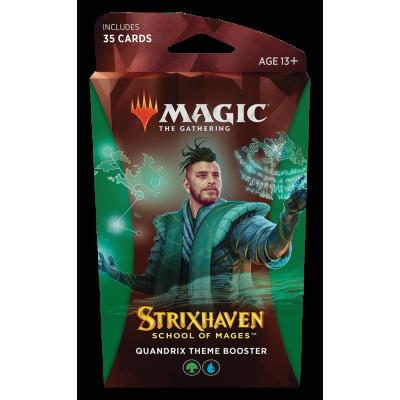 TCG Magic The Gathering Strixhaven Green Theme Booster - Quandrix MAGIC THE GATHERING