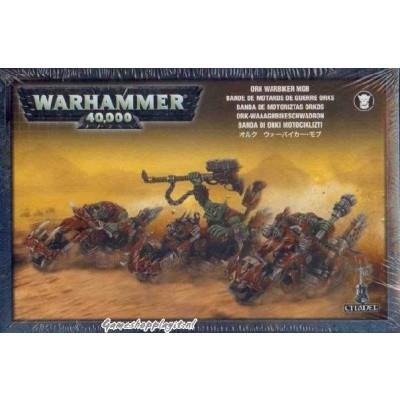 Foto van Ork Warbiker Mob Warhammer 40k
