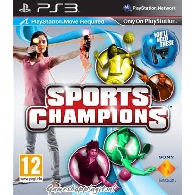 Sports Champions Move PS3