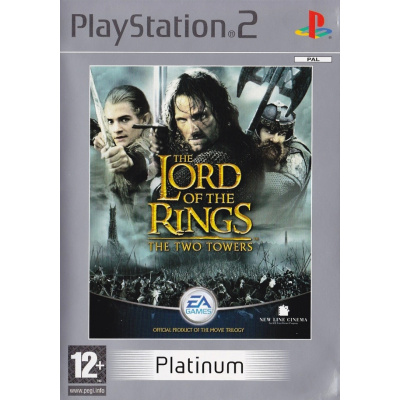 Foto van The Lord Of The Rings: The Two Towers (Platinum) PS2