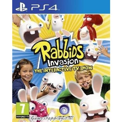 Foto van Rabbids Invasion The Interactive Tv Show PS4