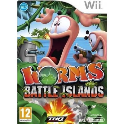 Worms Battle Islands WII