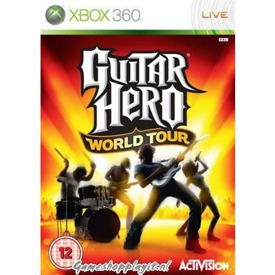 Guitar Hero World Tour (Game Only) XBOX 360