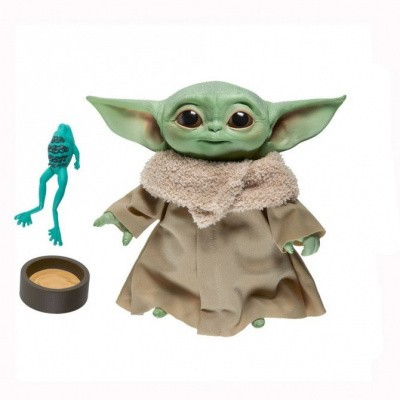 Star Wars - The Mandalorian: Yoda The Child Plush Toy With Sound 19 cm MERCHANDISE