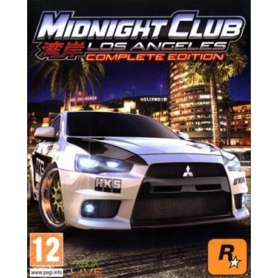 Foto van Midnight Club Los Angeles Complete Edition PS3