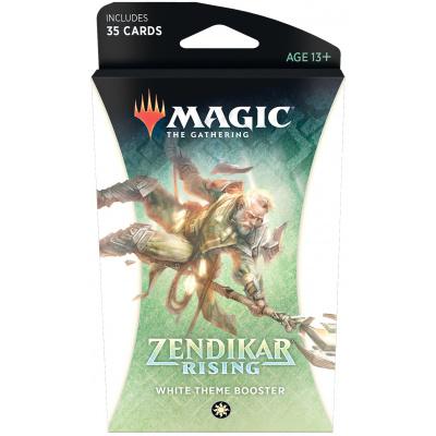 TCG Magic The Gathering Zendikar Rising White Theme Booster MAGIC THE GATHERING